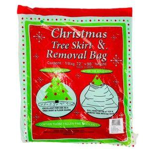 Christmas Tree Skirt & Removal Bag